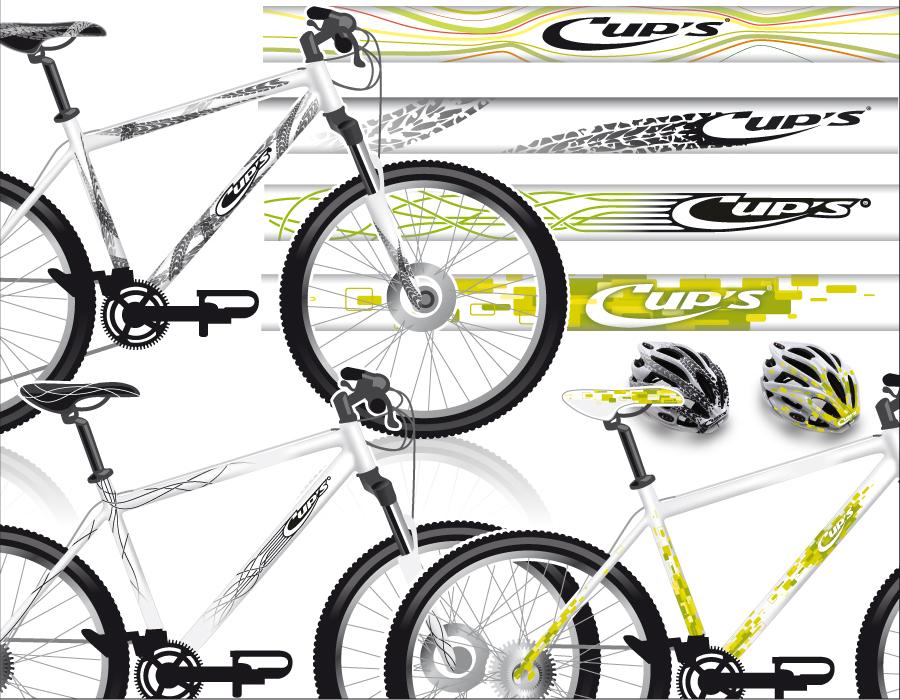 déco sur vélo