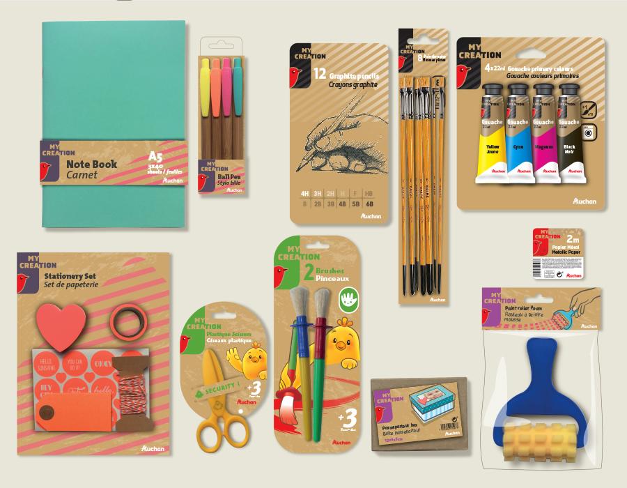 design pack loisir crétifs